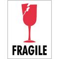 """3"""" x 4"""" - """"Fragile"""" International Safe-Handling Labels"""