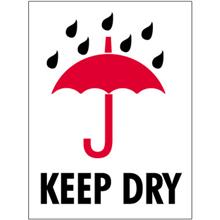 """""""Keep Dry"""" International Safe-Handling Labels"""