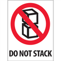 """""""Do Not Stack"""" International Safe-Handling Labels"""