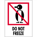 """""""Do Not Freeze"""" International Safe-Handling Labels"""