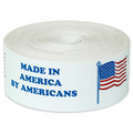 """Made in America by Americans"" Made in USA Labels"