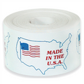 """Made in the U.S.A."" Labels Shipping and Handling Labels"