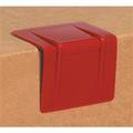 Red  Plastic Strap Guards - Edge Protectors
