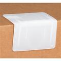 White  Plastic Strap Guards - Edge Protectors