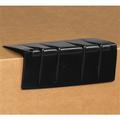 Black  Plastic Strap Guards - Edge Protectors