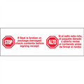 """Stop / Alto"" Pre-Printed Carton Sealing Tape"