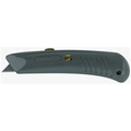 Safety Grip Utility Knife - Gray Retractable Utility Knife
