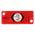 10G Resettable Drop-N-Tell Indicators Suggested use for Sturdy Electronic Equipment