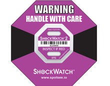 37G ShockWatch® 2 Indicators Suggested use for Furniture