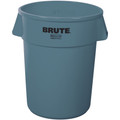 "Rubbermaid® Brute® Trash Can - 44 Gallon, Gray 32"" x 24"""