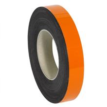 "1"" x 50' - Orange  Warehouse Labels - Magnetic Rolls"