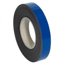 "1"" x 50' - Blue  Warehouse Labels - Magentic Rolls"