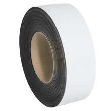 """2"""" x 50' - White  Warehouse Labels - Magnetic Rolls"""