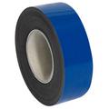 "2"" x 50' - Blue  Warehouse Labels - Magnetic Rolls"