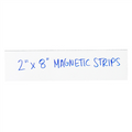 "2"" x 8"" White  Warehouse Labels - Magnetic Strips"