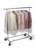 "21""X4""x30"" Clear Garment Bags on a Roll 0.6 mil 650/RL"