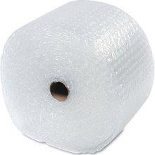 "1/2"" Large Clear Bubble Wrap® Perforated every 12""."