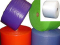 "3/16"" Small Bubble Wrap® Perforated every 12"". Available in Blue, Purple, Red, and Clear."