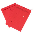 Red Inter-Department String and Button Envelopes