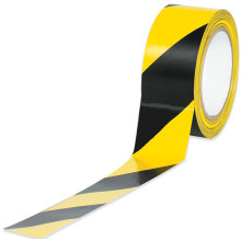 Striped Vinyl Safety Tape Yellow and Black