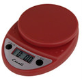 Escali Primo Warm Red Digital Multifunction Kitchen Scale