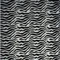 Zebra Print Tissue Paper SatinWrap Black and White Tissue Paper