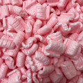 Pink Anti Static Loose Void Fill Packing Peanuts 3 Cubic Feet