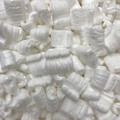 White Loose Void Fill Packing Peanuts 21 Cubic Feet