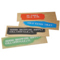 "Marsh® Oil Boards, 5"" x 16"" Stencil Oil Boards"