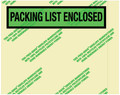 Environmental Packing List Enclosed Envelopes