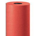 "Red Color Kraft Paper Roll 1000' x 36"" - 50#"