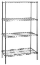 5 Tier Shelving System Packing Room Storage Organization