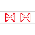 "Pre-Printed Carton Sealing Tape ""Fragile - Box"""