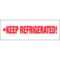 """Keep Refrigerated"" Pre-Printed Carton Sealing Tape"