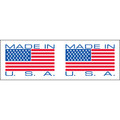 """Made in USA"" Pre-Printed Carton Sealing Tape"