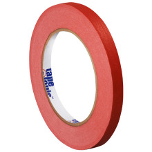 """1/4"""" Red Colored Masking Tape - Tape Logic™"""