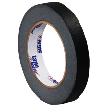 "3/4"" Black Colored Masking Tape - Tape Logic™"