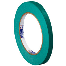 "3/4"" Dark Green Colored Masking Tape - Tape Logic™"