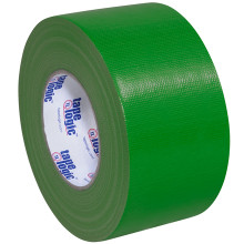 "3"" Green Colored Duct Tape - Tape Logic™"