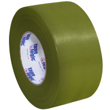 3 x 60 yds olive green 3 pack tape logic 10 mil duct tape