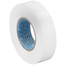 "3/4"" White Color Coding Vinyl Electrical Tape"