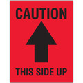 """""""Caution This Side Up"""" Arrow Shipping and Handling Labels"""