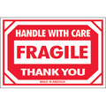 """""""Fragile - Handle With Care - Thank You"""" Shipping and Handling Labels"""