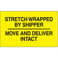 """Stretch Wrapped By Shipper"" Labels"