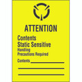 """Attention Contents Static Sensitive"" Labels"