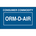 """Consumer Commodity ORM-D-AIR"" Labels"