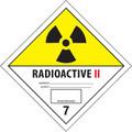 """""""Radioactive II"""" D.O.T. Hazard Labels"""