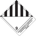 """Environmentally Hazardous Substances, Liquid"" Pre-Printed D.O.T Labels"