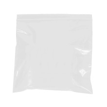 2 Mil White Reclosable Poly Bags