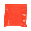 "9"" x 12"" - 2 Mil Red Reclosable Poly Bags"